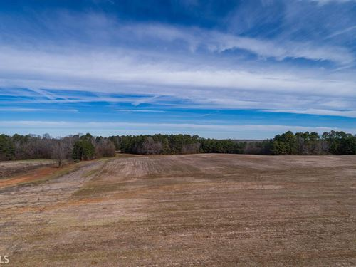 7.27 Acre Lot In Brownwood Estates : Madison : Morgan County : Georgia