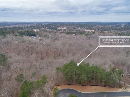 1 Acre Lot In Gated Community : Lawrenceville : Gwinnett County : Georgia