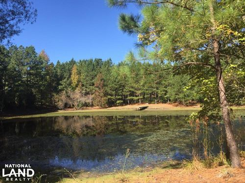 Smallstown Road Homesite With Pond : Winnsboro : Fairfield County : South Carolina
