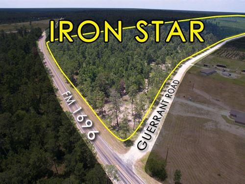 13.359 Ac Tract 18 Iron Star : Huntsville : Walker County : Texas