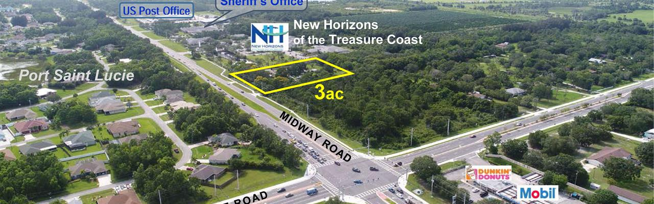 Commercial Development Site : Fort Pierce : Saint Lucie County : Florida
