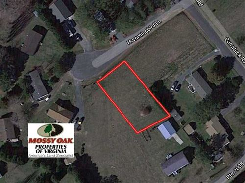 .45 Acre Building Lot For Sale in : Painter : Accomack County : Virginia
