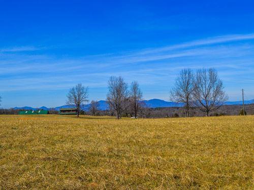 7.8 Acres With Mountain View : Campobello : Spartanburg County : South Carolina