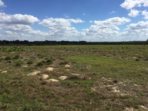 10 Acre Hard Corner With Steel Bld : Lake Wales : Polk County : Florida