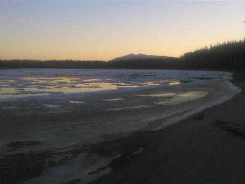 10.68 Acres on The Yentna River : Willow : Matanuska-Susitna Borough : Alaska