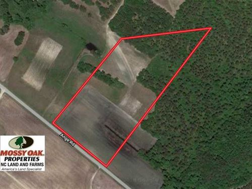 13.5 Acres of Farm And Timber Land : Grifton : Craven County : North Carolina