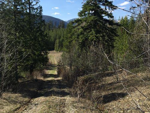 Log Cabin Delight : Bonners Ferry : Boundary County : Idaho