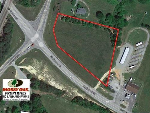 2.17 Acres of Commercial Land For : Pelham : Caswell County : North Carolina
