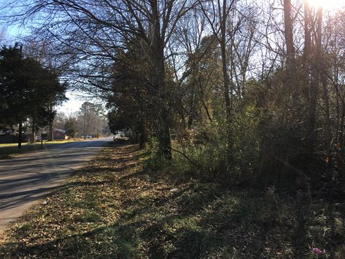 Olive Street 1.38 Acre Lot : Cedartown : Polk County : Georgia
