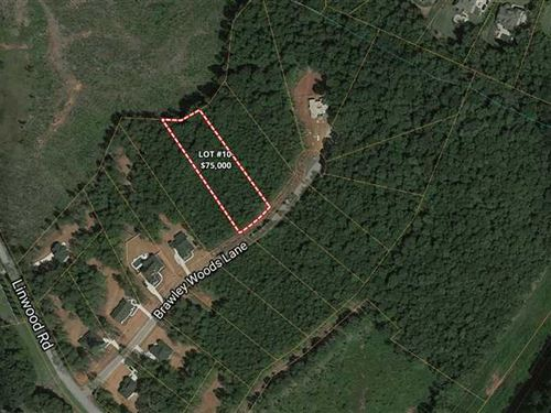 1 Acre in Brawley Woods, Iredel : Mooresville : Iredell County : North Carolina