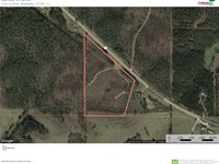 15 Acres For Sale : Wadley : Clay County : Alabama