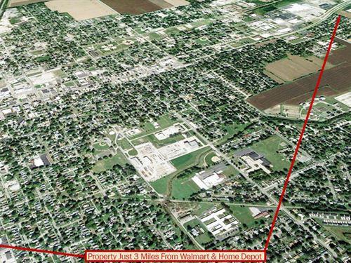 Rare Lot In Historic Town Of Matton : Mattoon : Coles County : Illinois