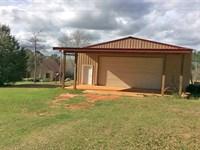 Morgan Mill Rd Cabin And Shop : Brantley : Crenshaw County : Alabama