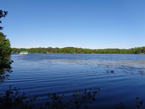 Rustic Land On 255 Acre Oneida Lake : Woodboro : Oneida County : Wisconsin