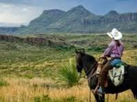 40 Acres At The Base Of Movie Mtn : Sierra Blanca : Hudspeth County : Texas