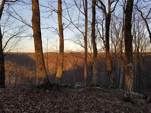 12+/- Acres Incredible Bluff Views : South Pittsburg : Marion County : Tennessee