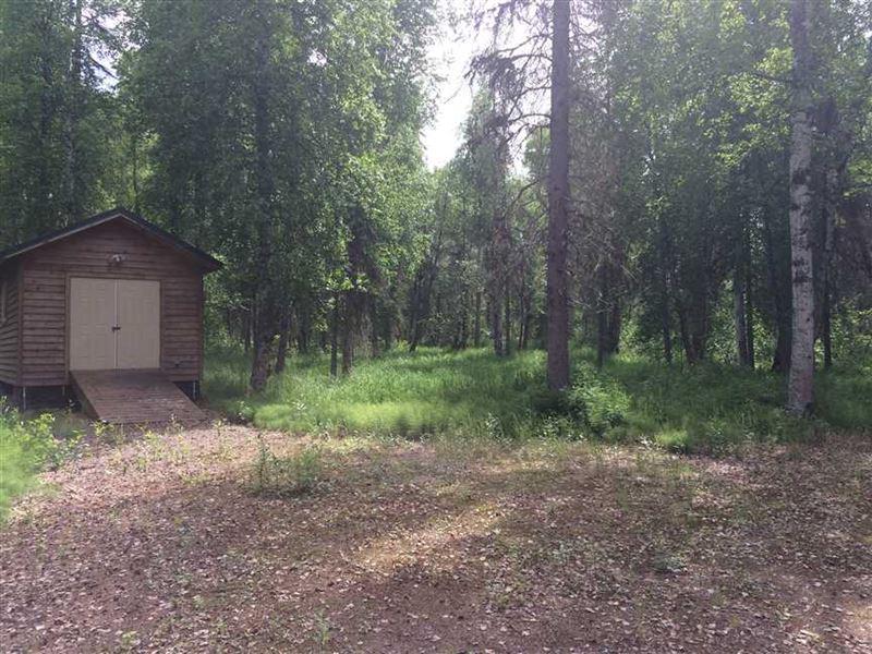 1.01 Acres, Vacant Recreational : Willow : Matanuska-Susitna Borough : Alaska
