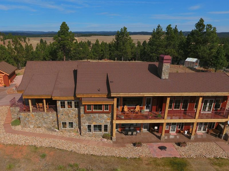 Stage Stop At Canyon Rim Ranch : Hot Springs : Custer County : South Dakota