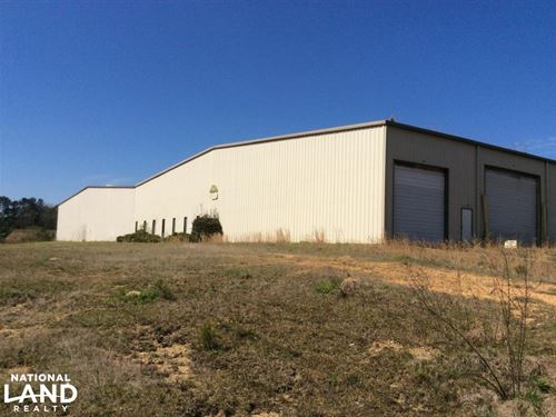 Large Commercial Warehouse in Hazel : Hazlehurst : Copiah County : Mississippi