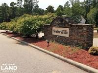 Senter Hills Large Lot : Bunnlevel : Harnett County : North Carolina