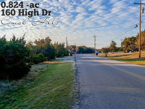 .82 Acres In Comal County : Spring Branch : Comal County : Texas