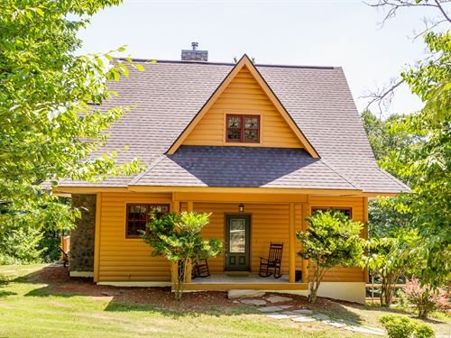Log Home In The Woods : Mooresburg : Hawkins County : Tennessee