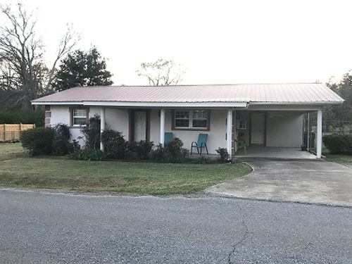 Great Starter/Downsizing Home : Talladega : Alabama