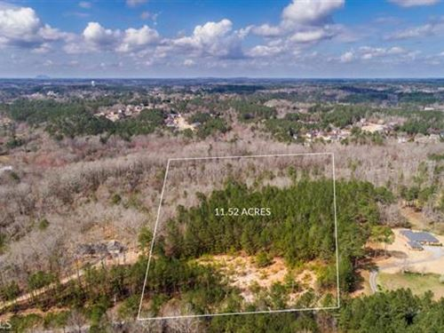 5+ Acres W/Option To Purchase 5+ Ac : Loganville : Walton County : Georgia