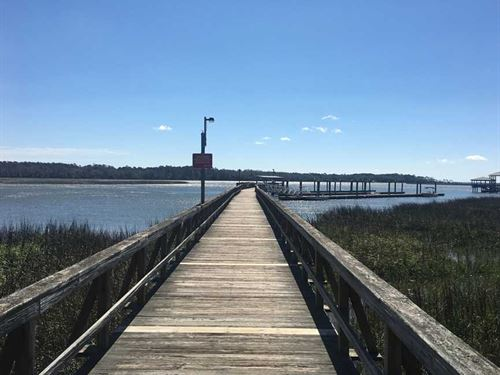 Coastal Getaway With Community Dock : Townsend : McIntosh County : Georgia