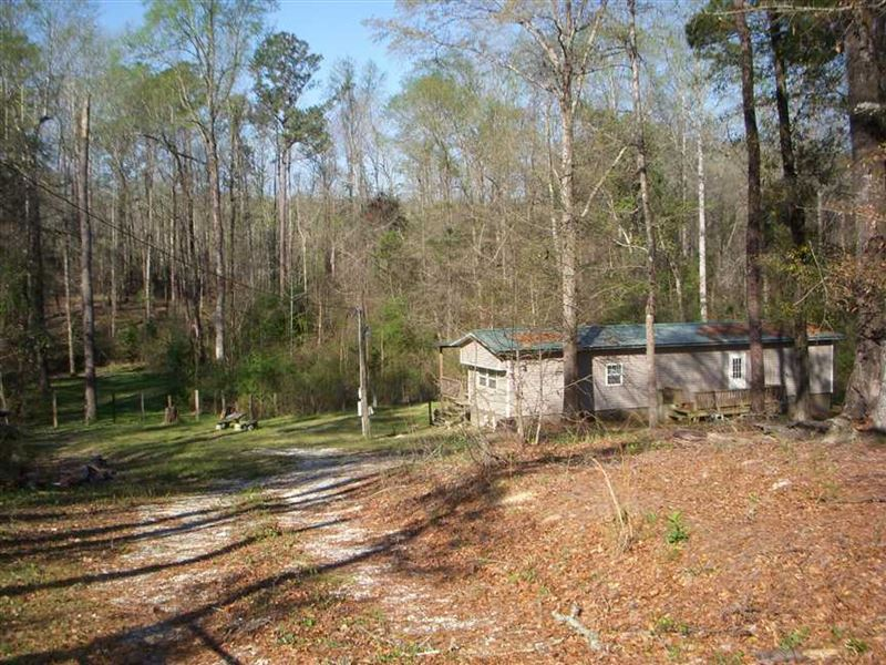 2 Bedroom, 1 Bath Mobile Home on 6 : Georgetown : Quitman County : Georgia