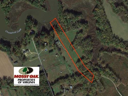 Reduced, 6.87 Acres of Residentia : Suffolk : Virginia