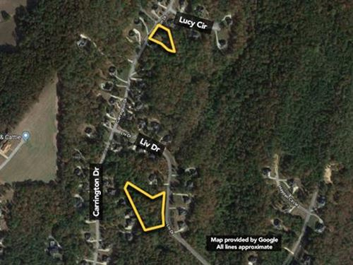 Land. Approx 2.25Ac Lot : Trussville : Jefferson County : Alabama