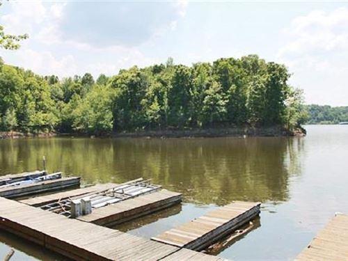 Barren River Lakefront Lot : Austin : Barren County : Kentucky