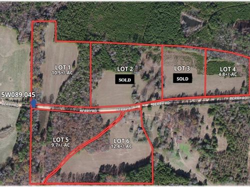 9.7 Acres In Webster County Lot 5 : Cumberland : Webster County : Mississippi