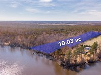 10 Acre Waterfront Home Site : Hertford : Perquimans County : North Carolina