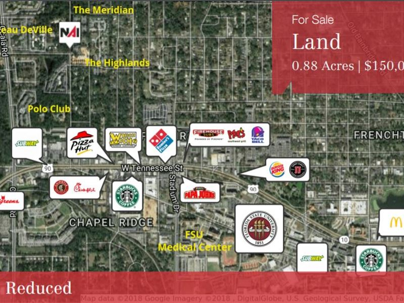Land for Multi-Family Develop, Jd : Tallahassee : Leon County : Florida