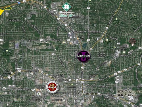 10.3 Acres In The City Limits : Tallahassee : Leon County : Florida