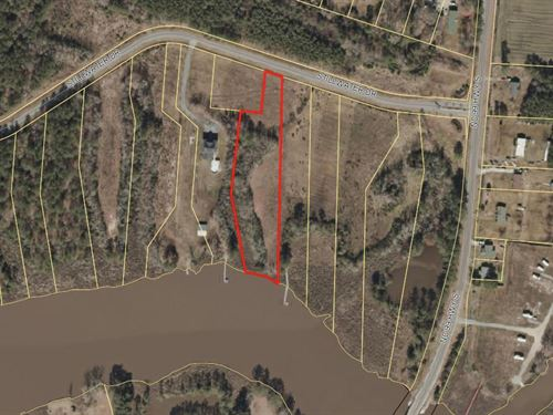 2.17 Acre Waterfront Homesite : Belhaven : Beaufort County : North Carolina