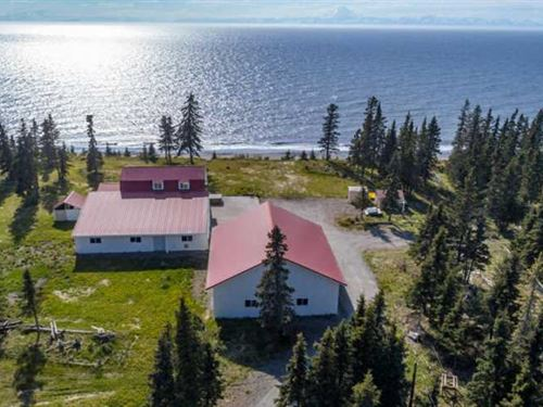 This Property is a Water Front Ala : Kasilof : Kenai Peninsula Borough : Alaska