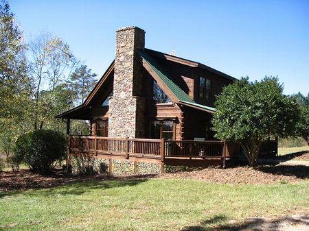 10 Acres W/ Pond And Cabin : Greensboro : Greene County : Georgia
