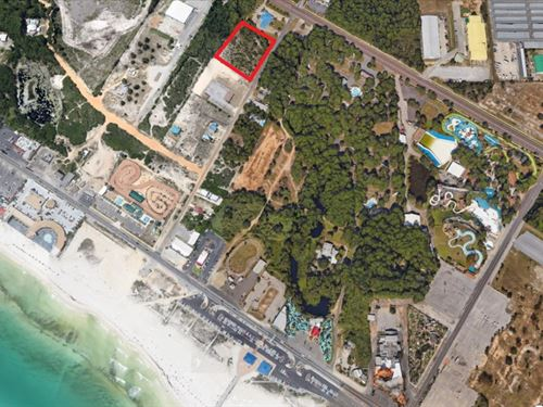 2 Blocks To Beach, Developer Opp : Panama City Beach : Bay County : Florida