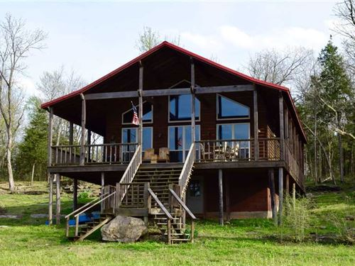Private Summer Lakeside Cabin On : Ft Towson : Choctaw County : Oklahoma