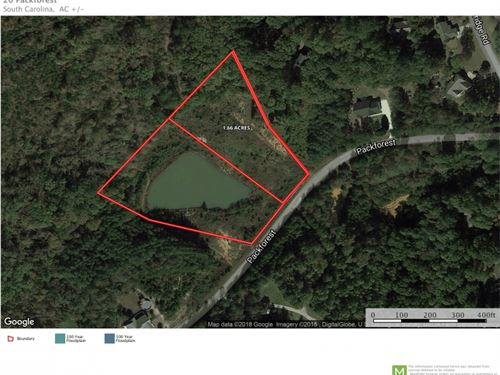 Homesite With Acreage And Pond : Greenville : South Carolina