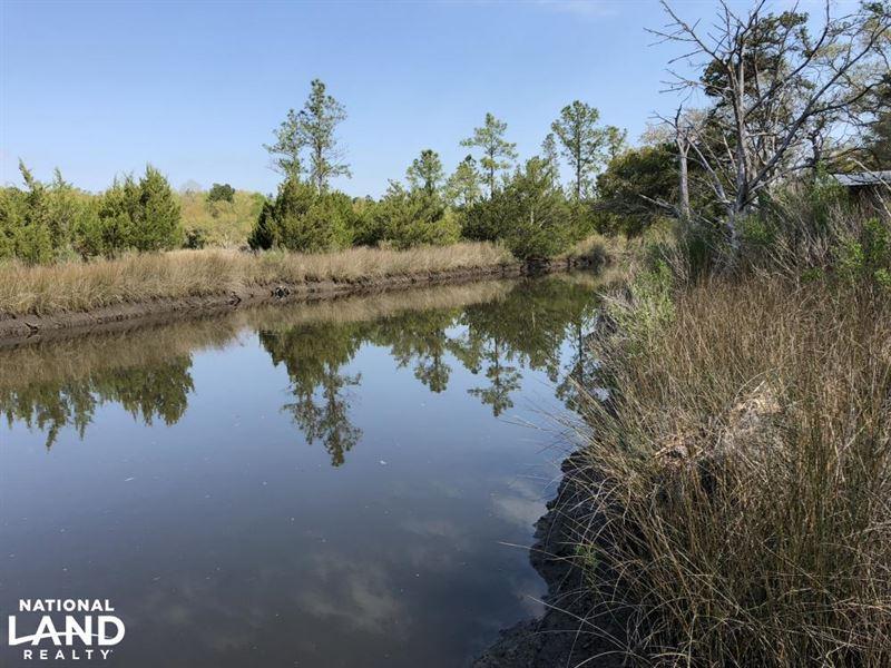 Sugar Loaf Waterfront Creek Lot : Yemassee : Jasper County : South Carolina