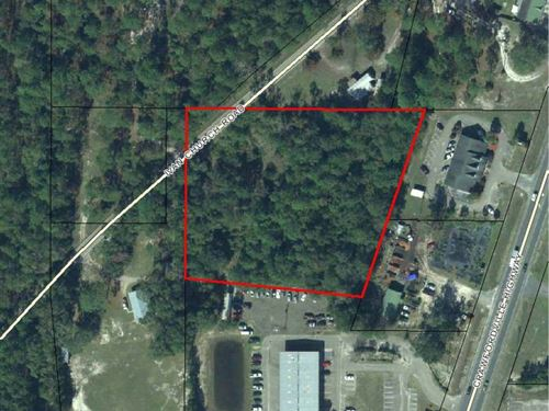 Vacant Lot Near Walmart : Crawfordville : Wakulla County : Florida