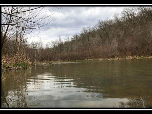 Beaver Pond On Wayne : Patriot : Gallia County : Ohio