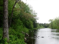 Tug Hill Riverfront : West Turin : New York County : New York