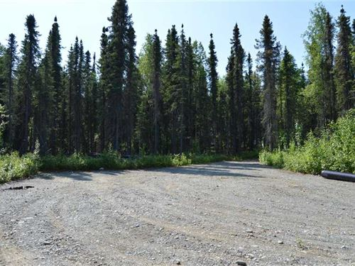 1.42 Acres, Nice Lot in Gated Com : Willow : Matanuska-Susitna Borough : Alaska