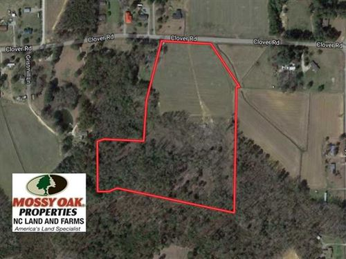 19 Acres of Farm And Timber Land : Rocky Mount : Edgecombe County : North Carolina