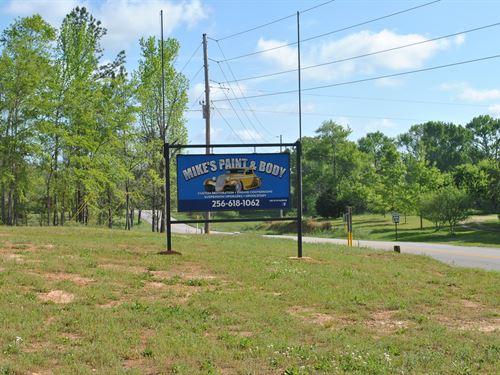 Active Body Shop Business : Cragford : Clay County : Alabama